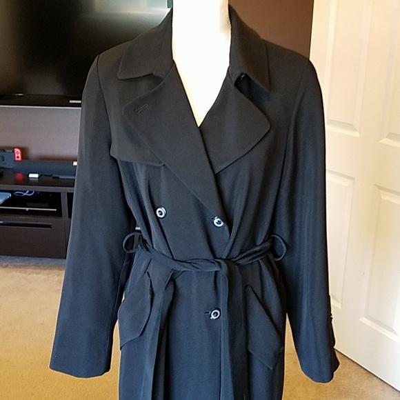 Utex Jackets & Blazers - Full length black trenchcoat